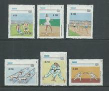 Paraguay 1992 Barcelona Olympic Games Set 6 MNH - Paraguay