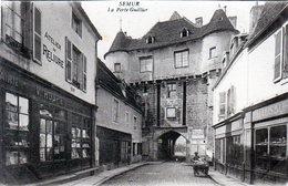 21 - SEMUR En AUXOIS - La Porte Guillier - Semur