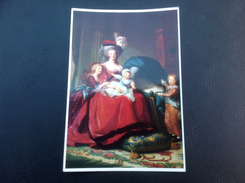 121 - REINE MARIE ANTOINETTE ET SES ENFANTS MADAME ROYALE, LE DAUPHIN, LE DUC DE NORMANDIE Peint Par Mme Vigee Lebrun - Schilderijen