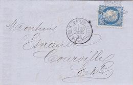 33 - LAC -  CERES  60  - ETOILE DE PARIS-  COURVILLE - Postmark Collection (Covers)