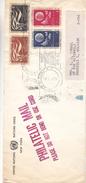 Nations Unies - New York - Lettre Officliëlle De 1961  ? - Météorologie - Droits De L'homme - Avec Vignette De La Douane - New-York - Siège De L'ONU