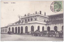 CPA - COURTRAI - La Gare - Trooz