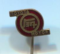 TOYOTA MOTOR - Car, Auto, Automotive, Vintage Pin Badge, Abzeichen, Enamel - Toyota