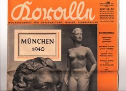 Journal Propagande Allemande München 1940 Wochenschrift Für Unterhaltung Guerre Allemagne Nazie - Revues & Journaux