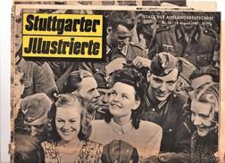 Journal Propagande Allemande Stuttgarter Jllustrierte 1940 Guerre Allemagne Nazie - Revues & Journaux