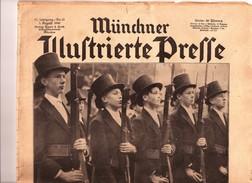 Journal Propagande Allemande Münchner Jllustrierte Presse 1940 Guerre Allemagne Nazie - Revues & Journaux