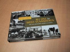 Bij Ons In West-Vlaanderen - Souvenirboek Met Unieke Prentkaarten - Livres