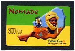 NIGER - Remote Phonecard As Scan
