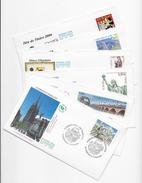 Enveloppes  1er Jour FDC . 2004 . 6 EnveloppesThème Différents - FDC