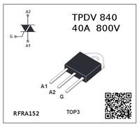 RFRA152 RADIO COMPOSANT ELECTRONIQUE THYRISTORS TRIACS TPDV840 FRA152 - Technical