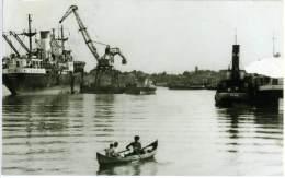 ROMANIA  BRÄILA  Vedere Din Port  Ships  Harbor Cranes - Romania