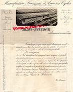 42 - SAINT ETIENNE - MANUFACTURE D' ARMES ET CYCLES- A M. BRODY DE LAMOTTE SAINT LOUP GOUZON- 1906 - France