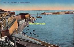 CPA MALTA ENTRANCE TO GRAND HARBOUR - Malte