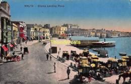CPA MALTA  SLIEMA LANDING PLACE - Malte