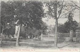 CRISOLLES (60) La Place - France