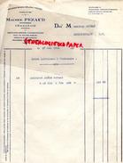 16 - CHABANAIS- FACTURE MAURICE PEZAUD- DELEAS FRERES- EXPLOITATIONS FORESTIERES- BOIS- SCIERIE- 1926 - France