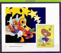 NciD880b WALT DISNEY DONALD DUCK THE THREE CABALLEROS BELIZE 1986 PF/MNH # - Disney