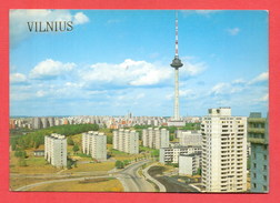 (178) Lithuania Vilnius Un-used Postcard