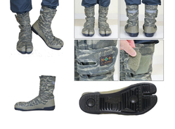 """Sokaido """" L Wins """" Security Tabi Shoes VO-802 """" Camouflage"""" - Other Collections"""