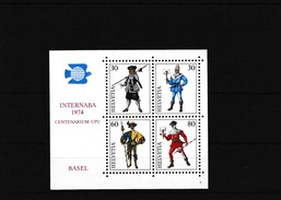 1974 Sonderblock Internababa . Mi: Bl. 22** - Blocs & Feuillets