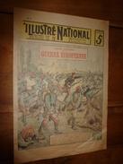 1914 ILLUSTRE NATIONAL Histoire Anecdotique GUERRE EUROPEENNE (NOS ZOUAVES En BELGIQUE) Résistance Héroïque Des Belges - Magazines & Papers