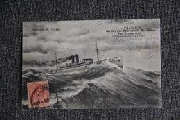 Souvenir De Voyage - VALVIDIA , Compagnie Générale Des Transports Maritimes. - Steamers