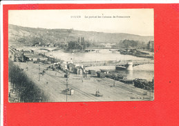 76 ROUEN Cpa Port Et Coteau De Bonsecours  Edit JB - Rouen