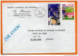 BENIN  1985   YOURI GAGARINE  Lettre Entière  N° Q 341