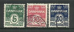 1912 Denmark  Canc.