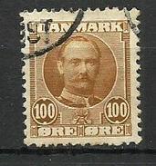 1907 Denmark  Canc.
