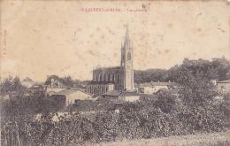 """Saint Laurent De Mure - Vue Générale, église - Circ 1906, Cachet Boite Facteur """"B"""", Trou De Punaise - France"""