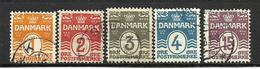 1905 Denmark  Canc.