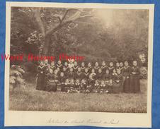 2 Photos Anciennes Avant 1900 - Jardin De BEAUVAIS ( Oise ) - Atelier De Saint Vincent De Paul - Soeur / Religieuse - Old (before 1900)