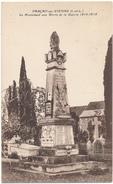 PARCAY SUR VIENNE - Le Monument Aux Morts - France