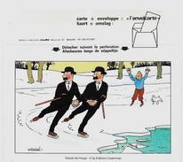 CPM Hergé Tintin Et Milou Non Circulé Enveloppe Lettre Carte - Hergé