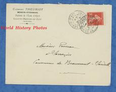Enveloppe Ancienne De 1912 - SAINT BENIN D' AZY ( Nièvre ) - Clément THEURIOT , Médecin Vétérinaire - Frankreich