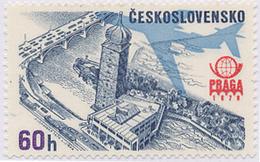 "Czechoslovakia / Stamps (1976) L0080 (Air Mail Stamp): PRAGA 78 (Prague, Building ""Manes""); Painter: J. Lukavsky"