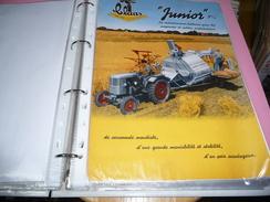 Brochure Pub Moissonneuse Batteuse CLASS Junior - Advertising