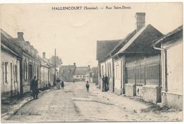 HALLENCOURT - Rue Saint Denis - Frankreich