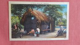 Venezuela Native Hut  Has Stamp & Cancel Ref 2483 - Venezuela