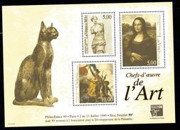 Bloc Feuillet N° 23 PHILEX FRANCE  1989  NEUF ** COTE 50 EUROS - Mint/Hinged