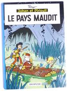 BANDE DESSINEE JOHAN & PIRLOUIT - DOS ROND 01/1966 - BE+ - PEYO - LE PAYS MAUDIT - T 12 - Johan Et Pirlouit