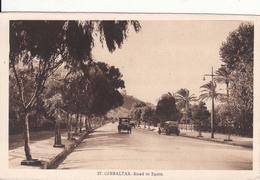 G , Cp , GIBRALTAR , Road To Spain - Gibraltar
