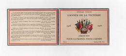 !!! GUERRE DE 14-18 : PETIT CALENDRIER DE 1916 L'ANNEE DE LA VICTOIRE - Calendars