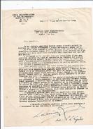 LOUIS LELIEVRE LYNDE (L L LYNDE) (1879 COMPIEGNE 1971 MAGNY EN VEXIN) COMPOSITEUR MUSIQUE DE SALON TAPUSCRIT SIGNE 1942 - Autographs