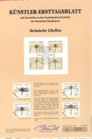Bund   Künstler-Ersttagsblatt  28/1991   #  3009   Heimische Libellen - [7] Federal Republic