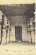 EGYPTE - Intérieur Du Grand Temple D'IBSAMBOUL (ABU SIMBEL) - Abu Simbel