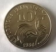 10 Francs 1986 - Jimenez - Superbe  - - France