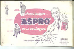 Buvard  ASPRO - Produits Pharmaceutiques