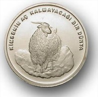 AC - TURKEY FAO GOAT 750 000 LIRA 2002 UNCIRCULATED - Turchia